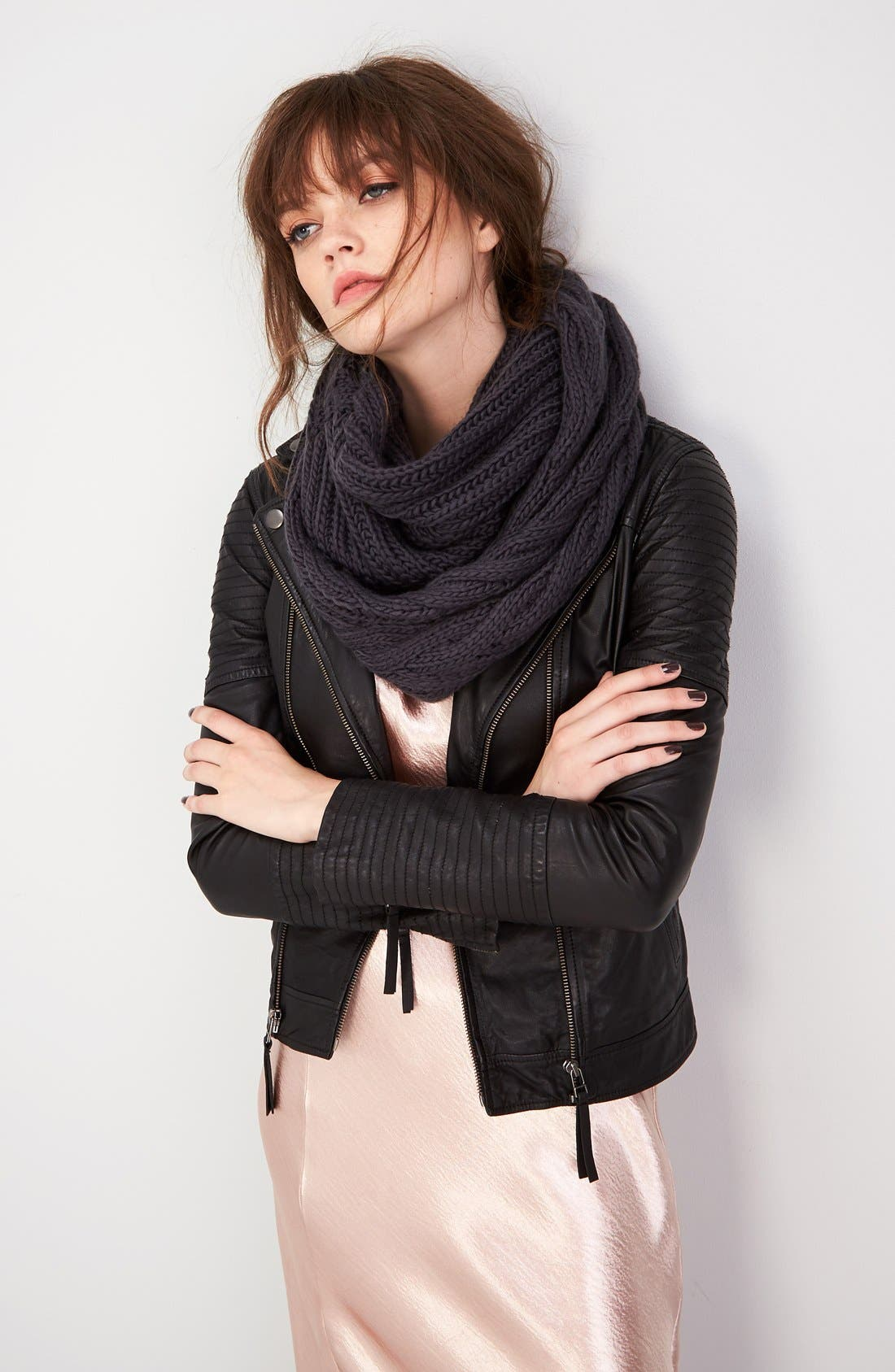 Alternate Image 2  - BP. Cable Knit Infinity Scarf (Special Purchase)