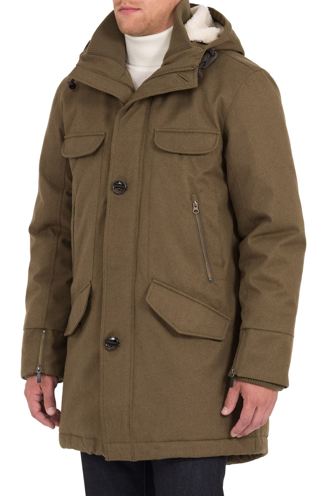 Fishtail Parka,                             Alternate thumbnail 4, color,                             Military
