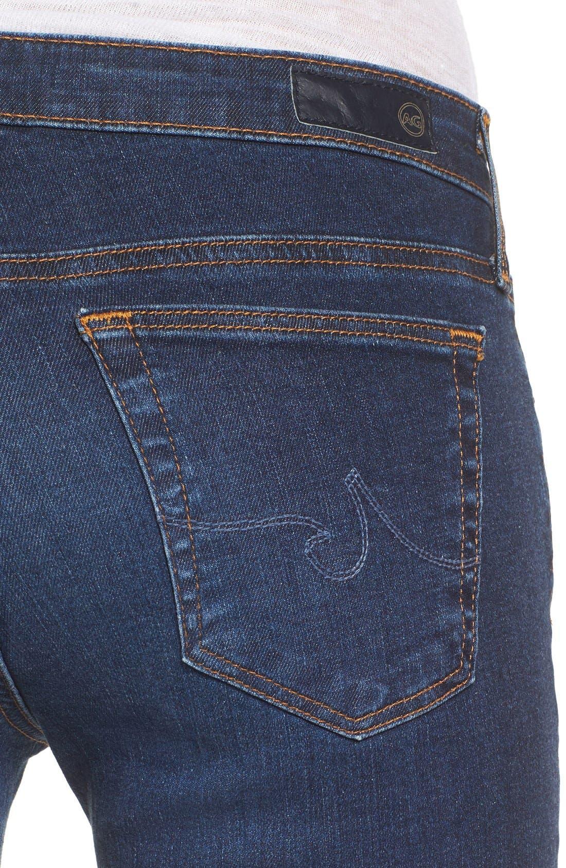 The Stilt Cigarette Leg Jeans,                             Alternate thumbnail 4, color,                             Workroom