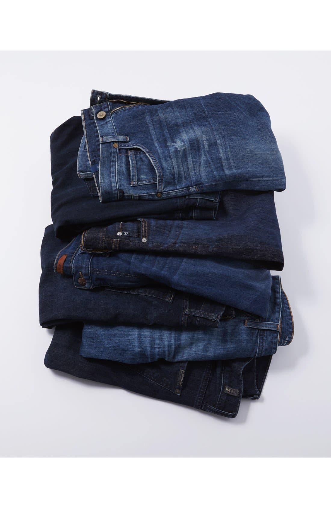 Alternate Image 6  - AG 'Graduate' Tailored Fit Straight Leg Jeans (13 Year Origin)