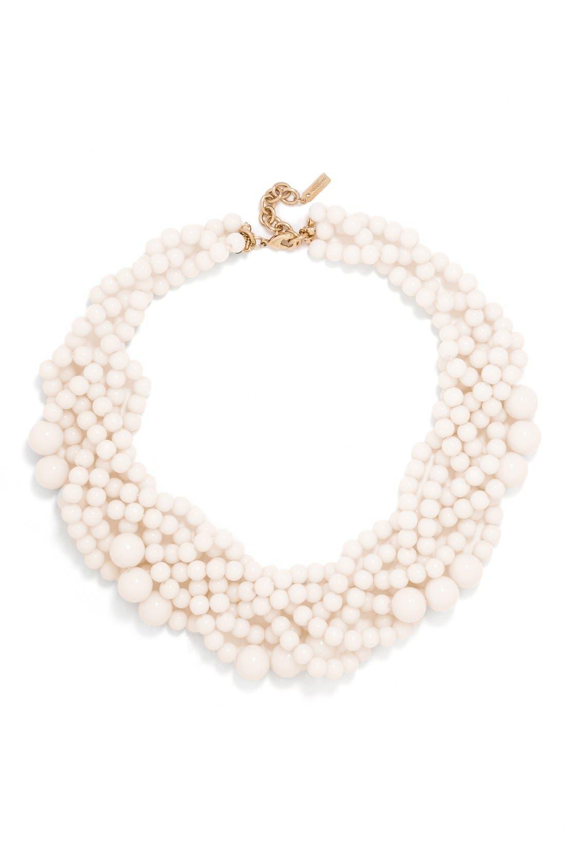 Main Image - BaubleBar Bubblestream Imitation Pearl Necklace