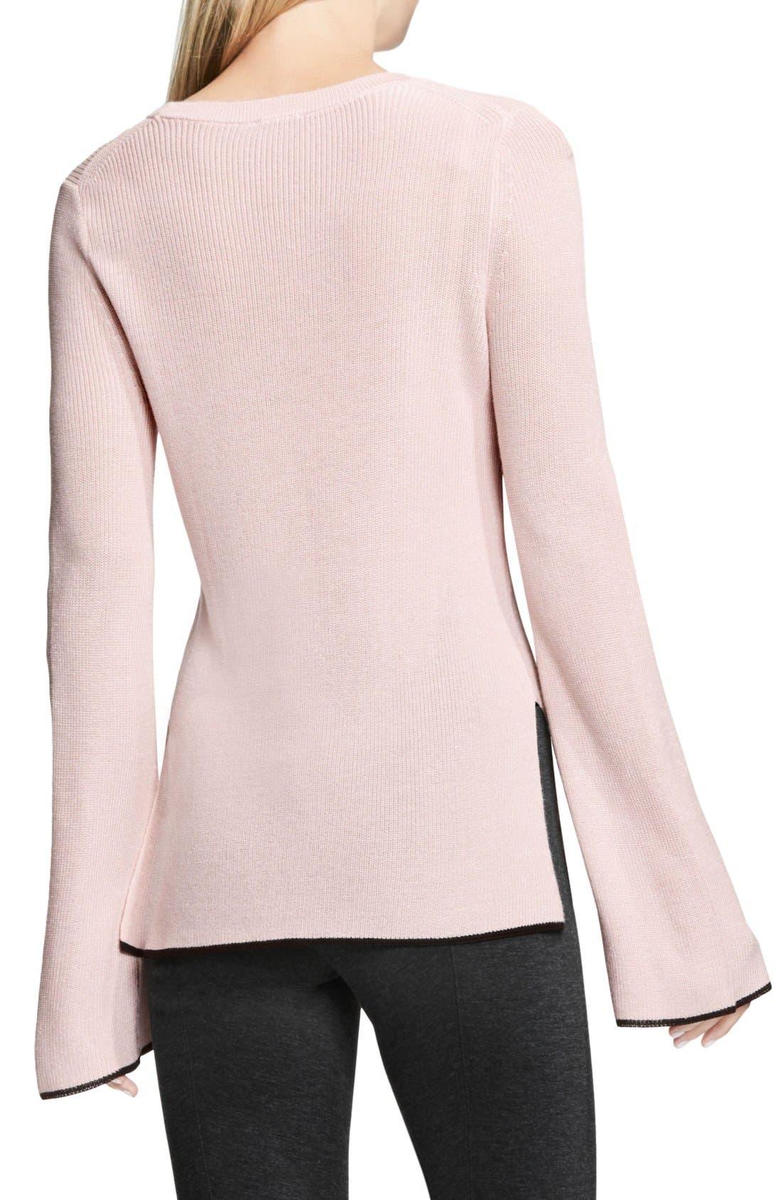 Alternate Image 3  - Vince Camuto Bell Sleeve Sweater (Regular & Petite)