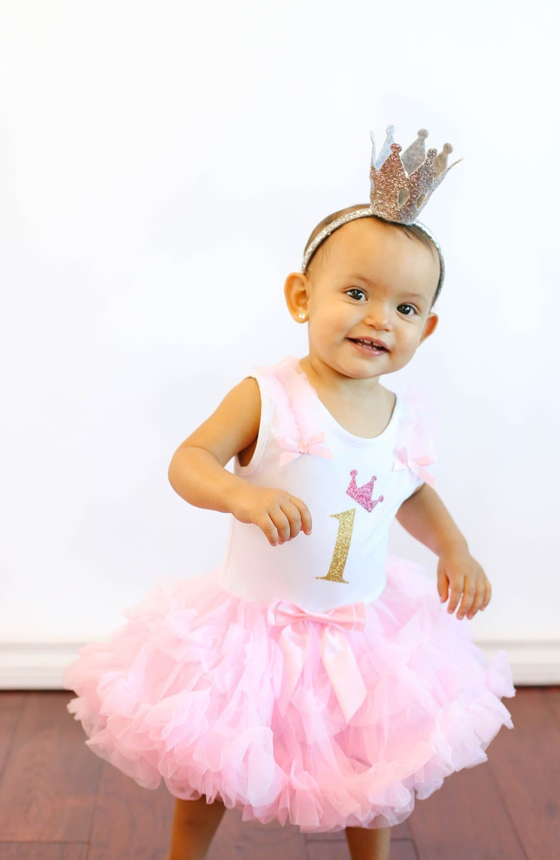 Alternate Image 2  - Popatu Birthday Tutu Dress (Baby Girls)