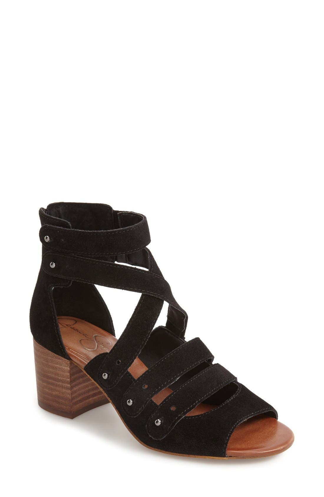 Alternate Image 1 Selected - Jessica Simpson Halacie Ankle Strap Sandal (Women)