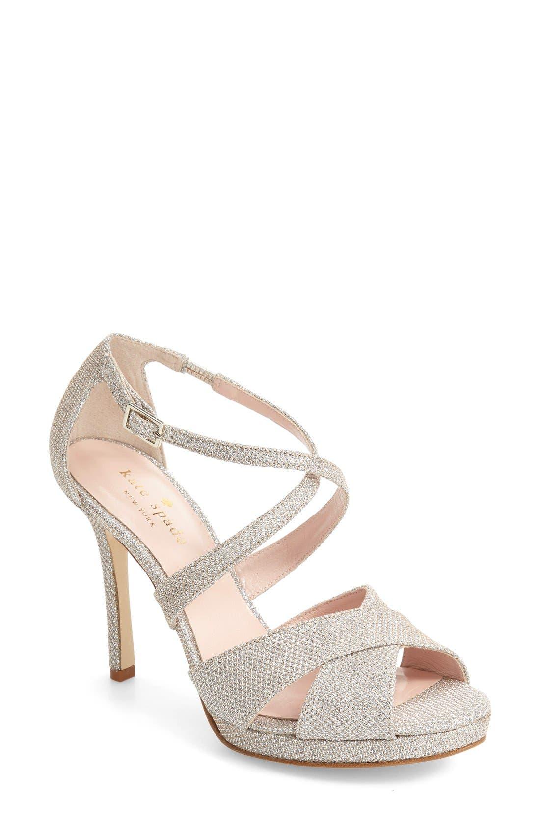 Alternate Image 1 Selected - kate spade new york frances platform sandal (Women)