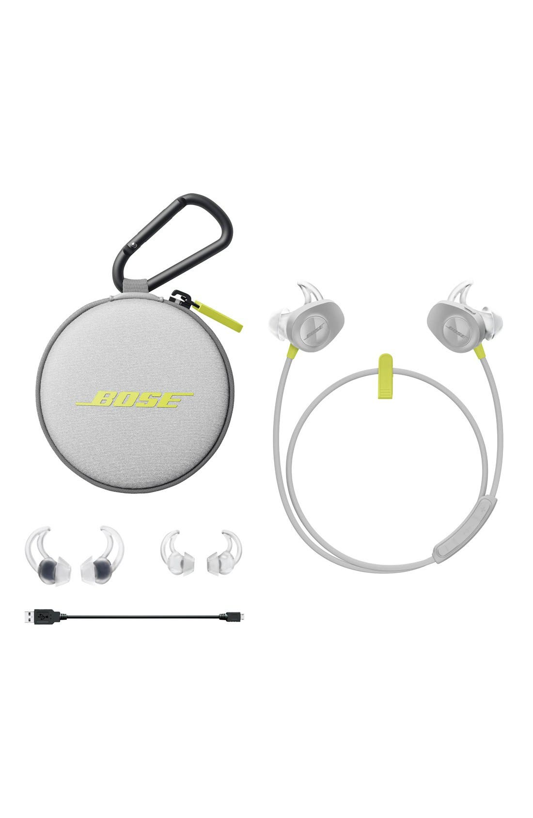 SoundSport<sup>®</sup> Wireless Headphones,                             Alternate thumbnail 4, color,                             Citron
