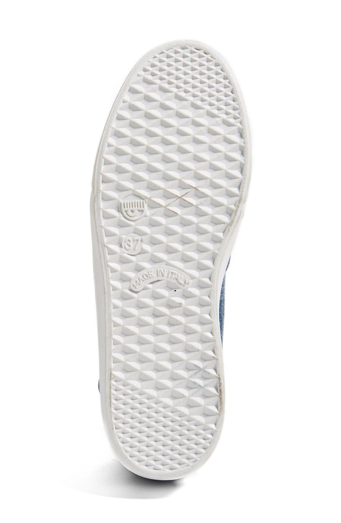 Alternate Image 4  - Chiara Ferragni Flirting Beaded Slip-On Sneaker (Women)