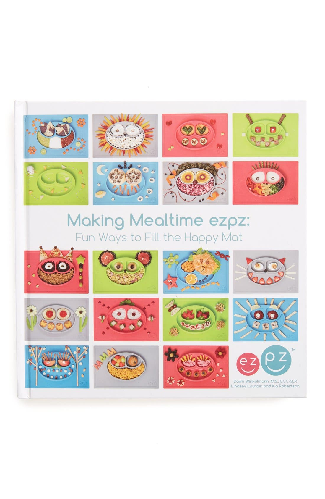 Making Mealtime ezpz: Fun Ways to Fill the Happy Mat Book,                             Main thumbnail 1, color,                             Multi