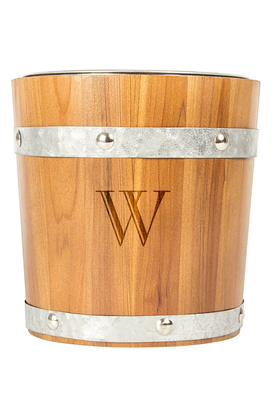 Alternate Image 2  - Cathy's Concepts Rustic Monogram Ice Bucket