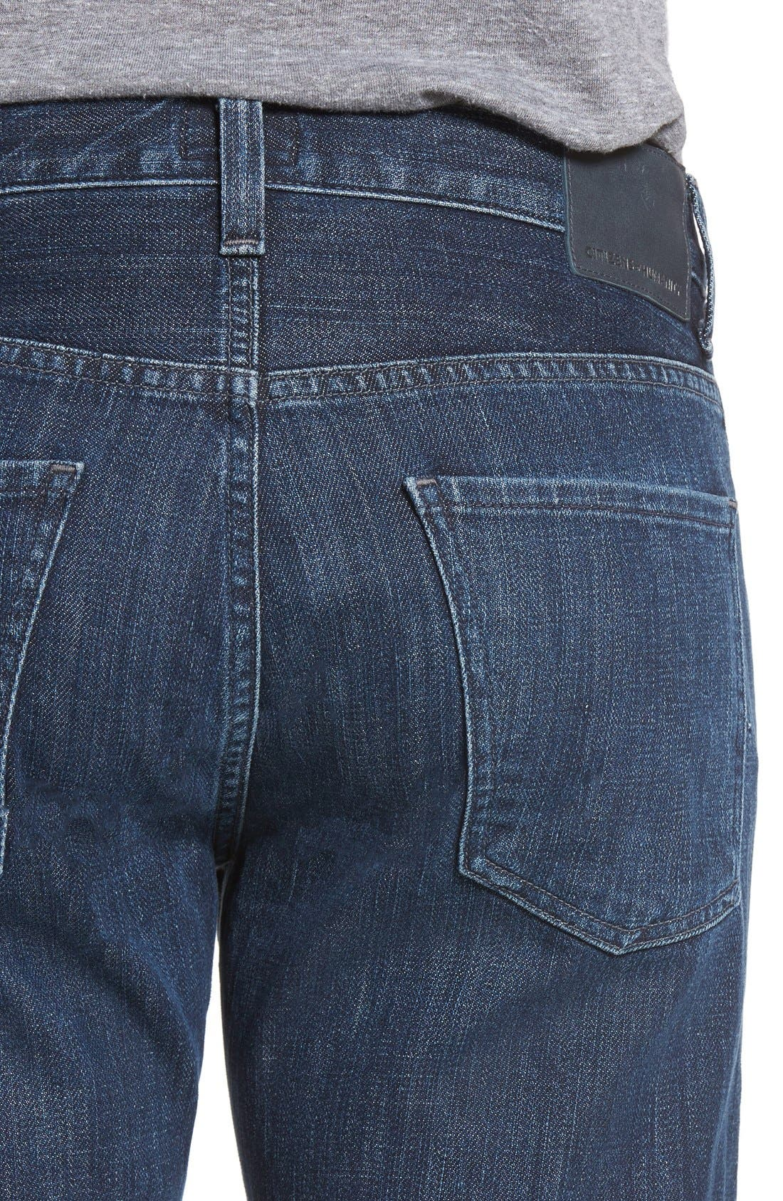 Alternate Image 4  - Citizens of Humanity Sid Straight Leg Jeans (Canon)