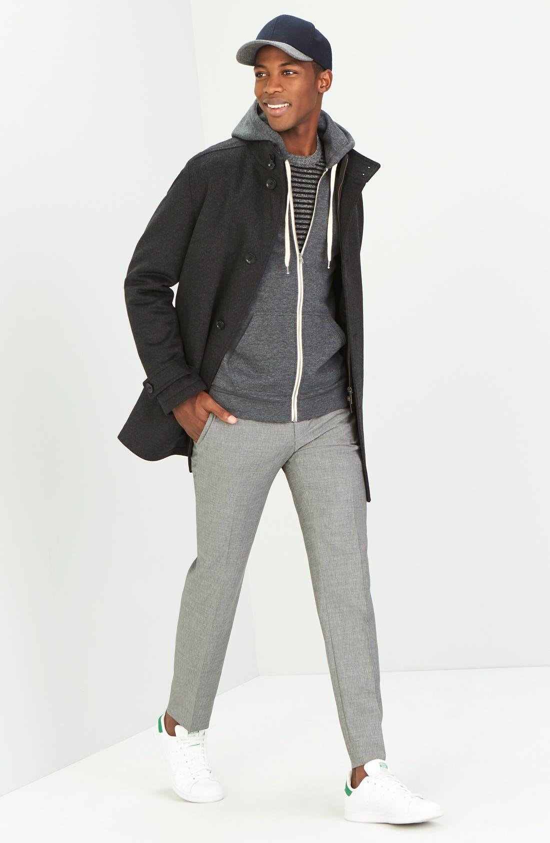 Alternate Image 6  - BOSS 'Camlow' Wool & Cashmere Car Coat
