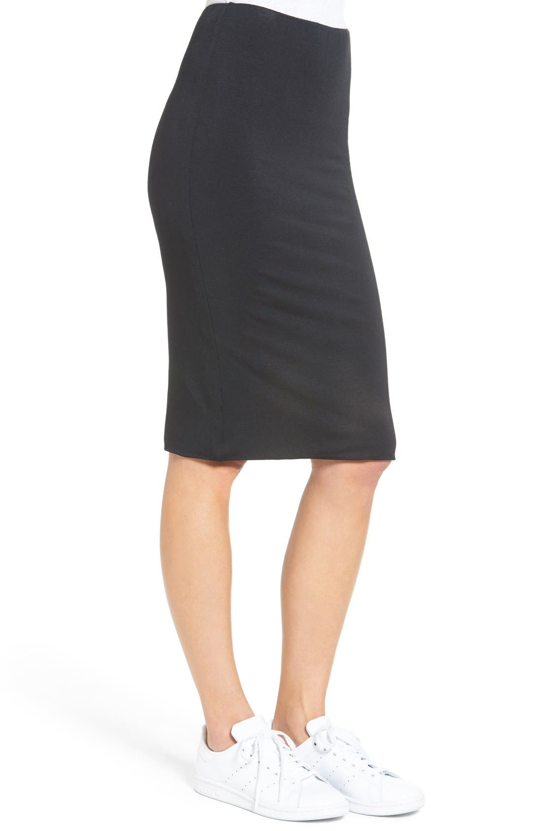 Alternate Image 3  - Amour Vert 'Yuma' Stretch Knit Skirt