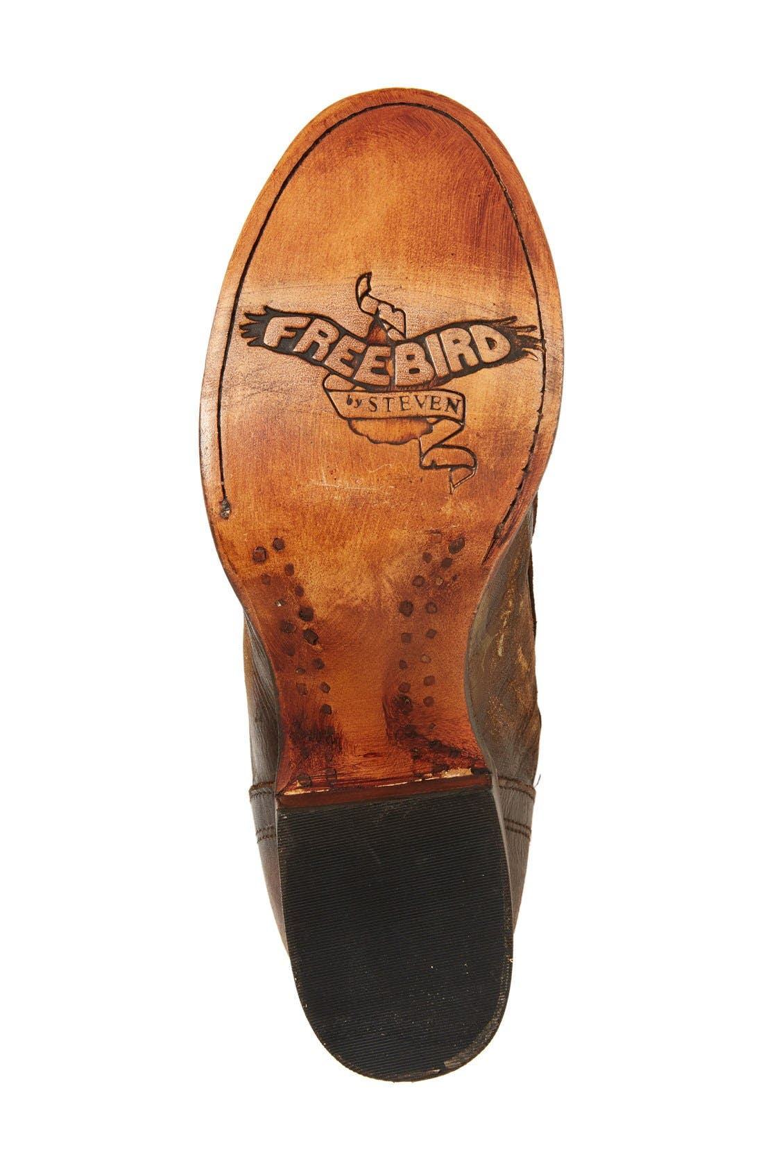 Alternate Image 4  - Freebird by Steven Arlo Lace-Up Knee High Boot (Women)