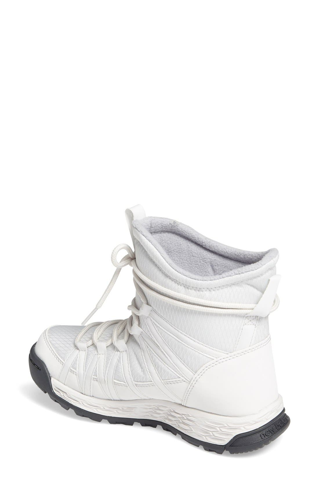 Q416 Weatherproof Snow Boot,                             Alternate thumbnail 2, color,                             White