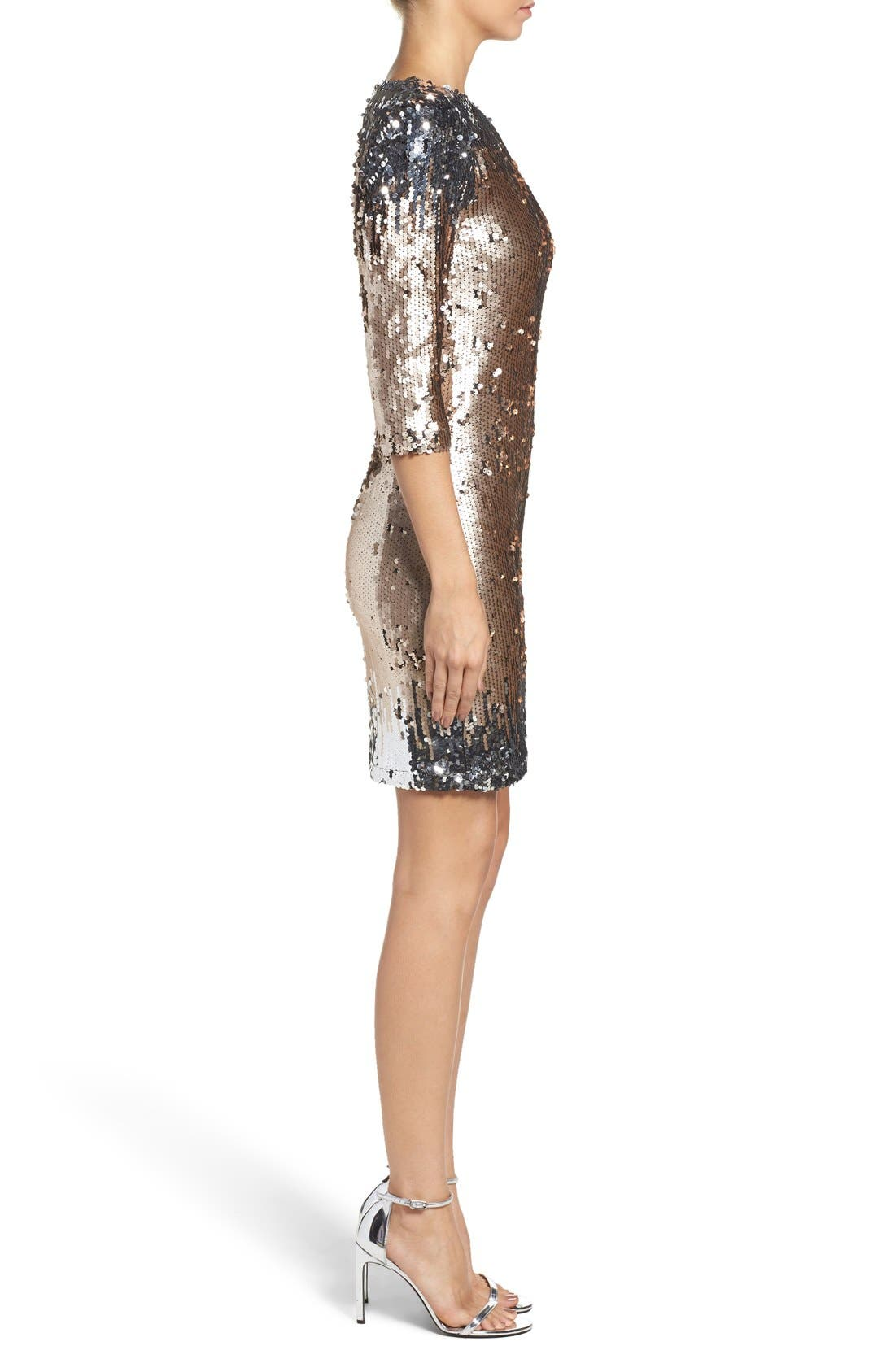 Alternate Image 3  - BB Dakota Elise Sequin Body-Con Dress