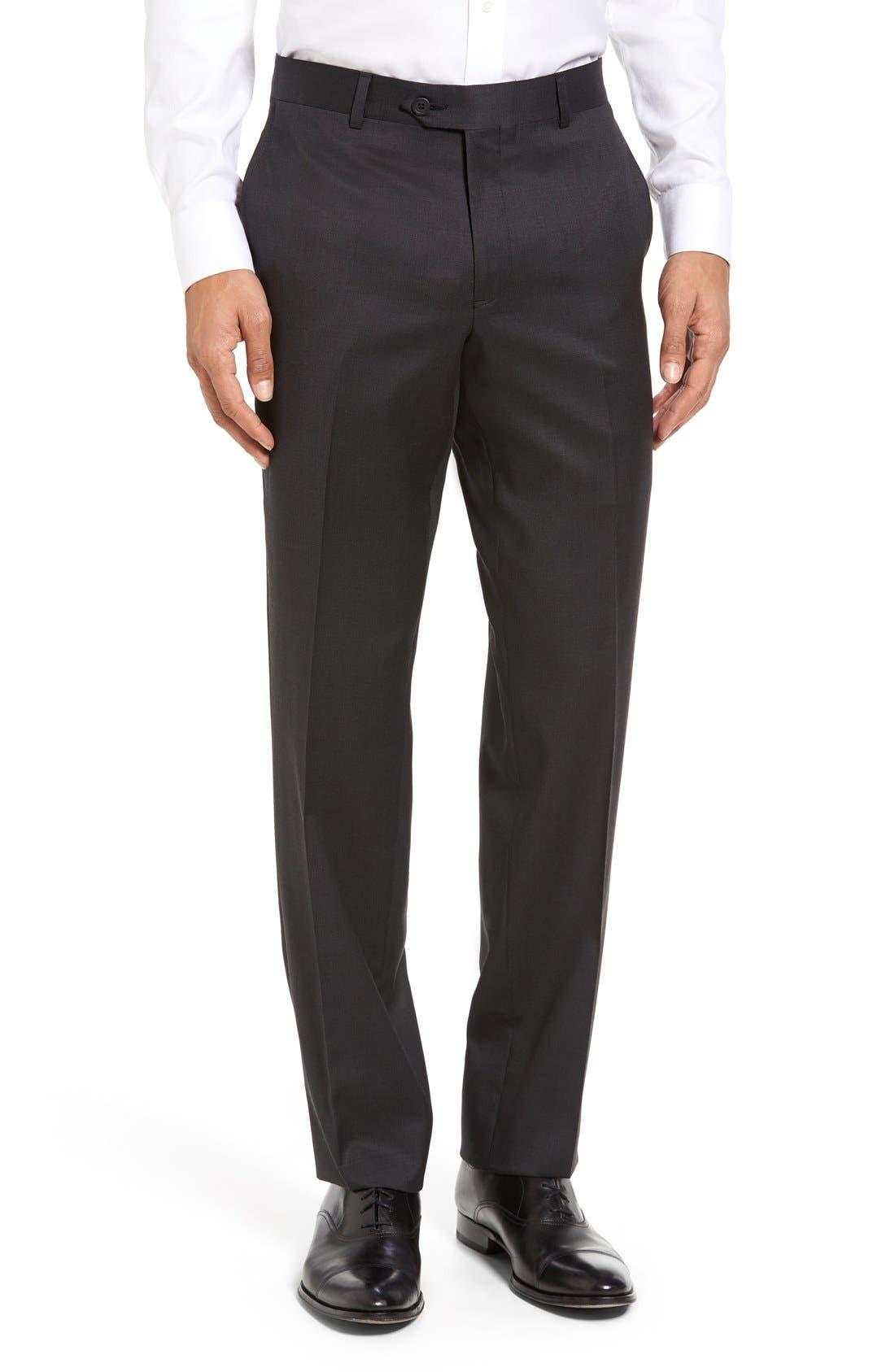 Alternate Image 6  - Nordstrom Men's Shop Classic Fit Solid Wool Suit