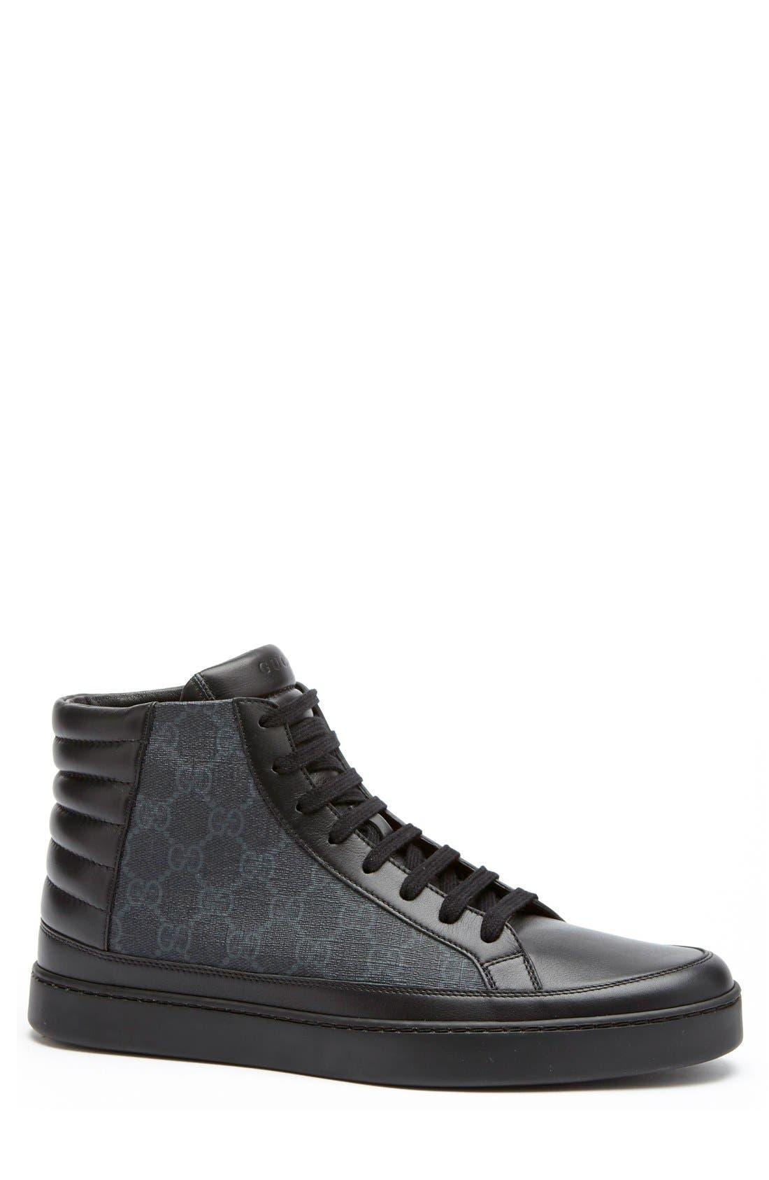 Alternate Image 3  - Gucci 'Common' High Top Sneaker (Men)