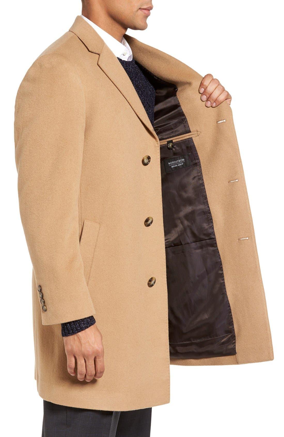 Alternate Image 3  - Nordstrom Men's Shop Freemont Wool & Cashmere Overcoat