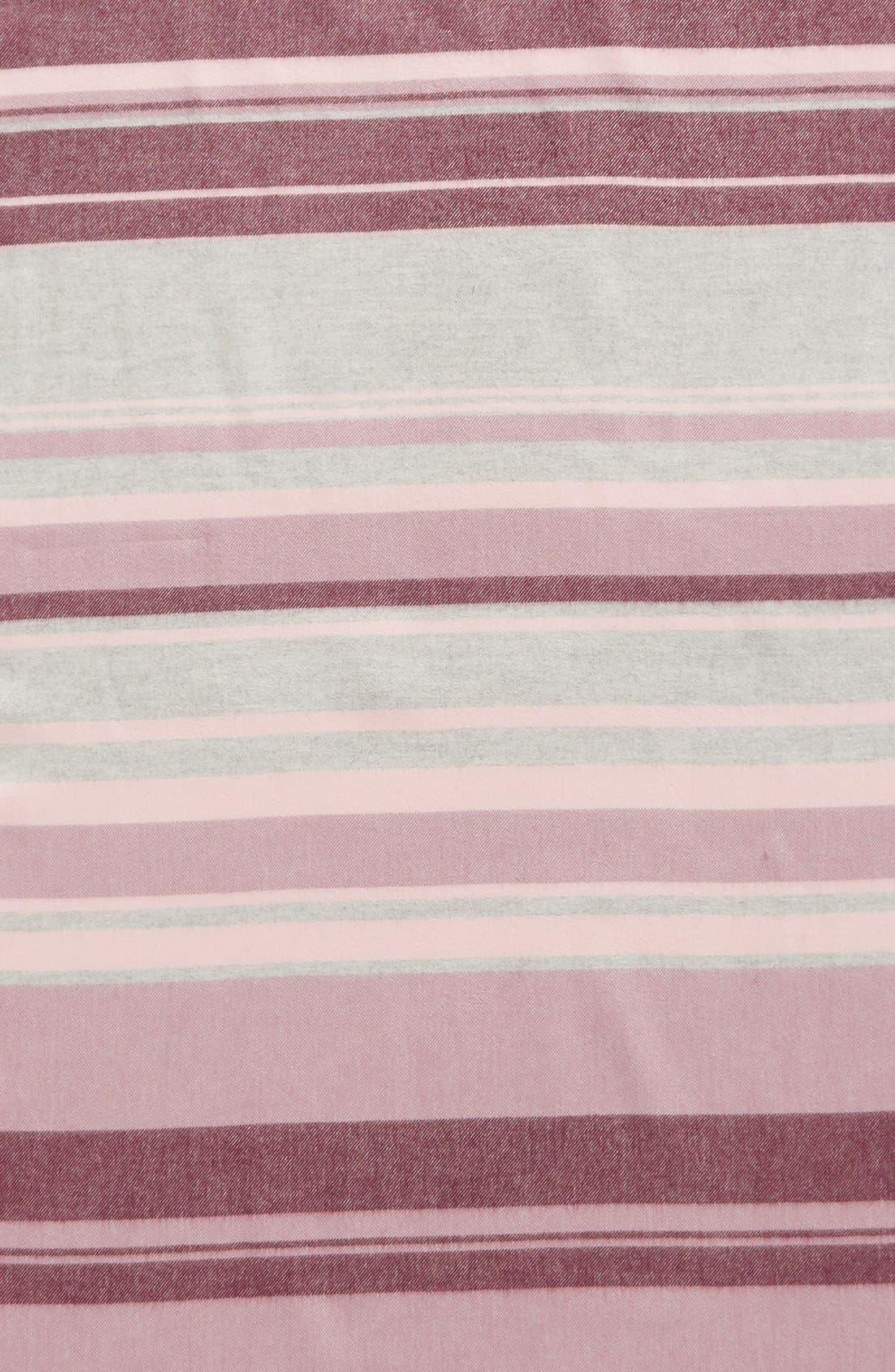 Alternate Image 3  - Nordstrom Variegated Stripe Wrap