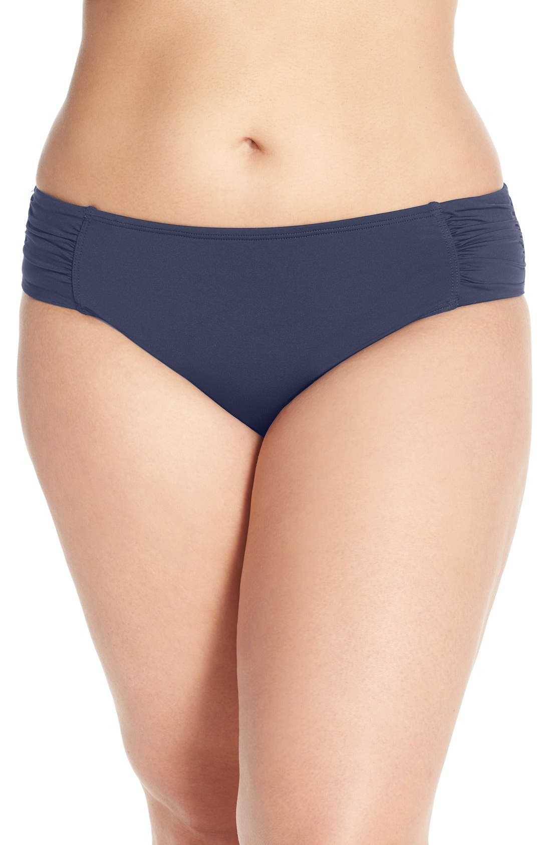 Alternate Image 1 Selected - Tommy Bahama 'Pearl' Bikini Bottoms (Plus Size)