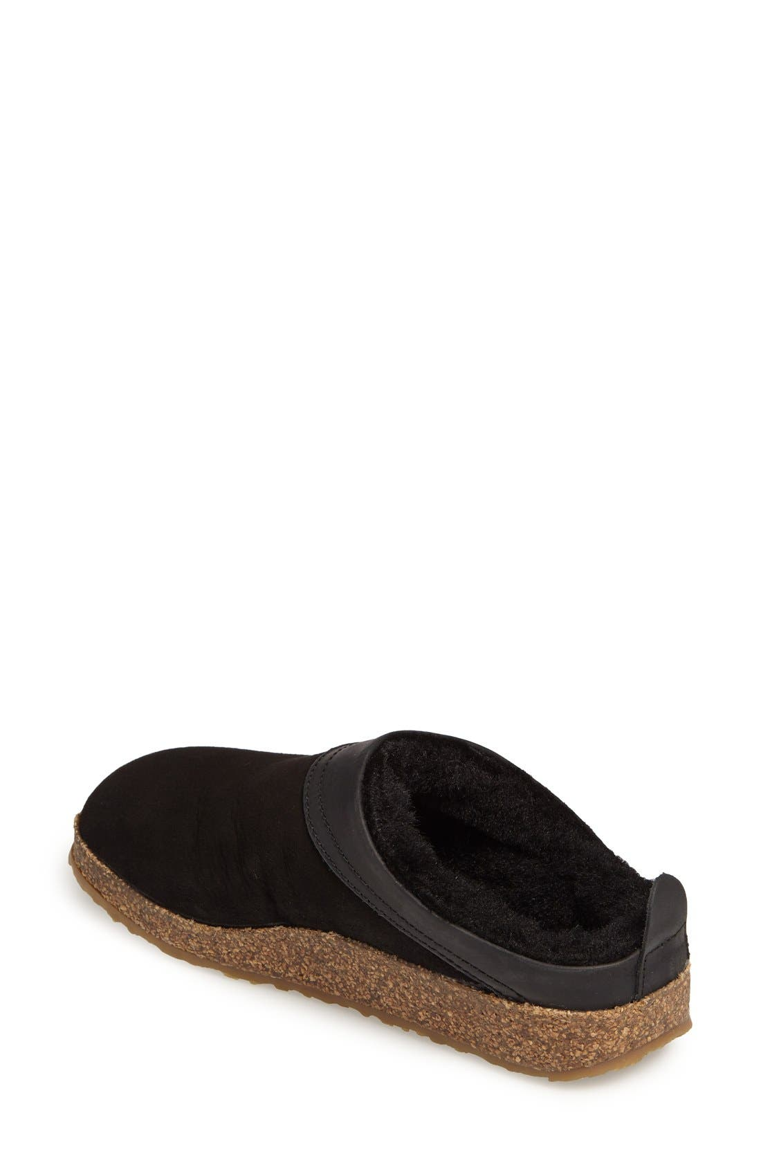 Alternate Image 2  - Haflinger Snowbird Genuine Shearling Slipper (Women)