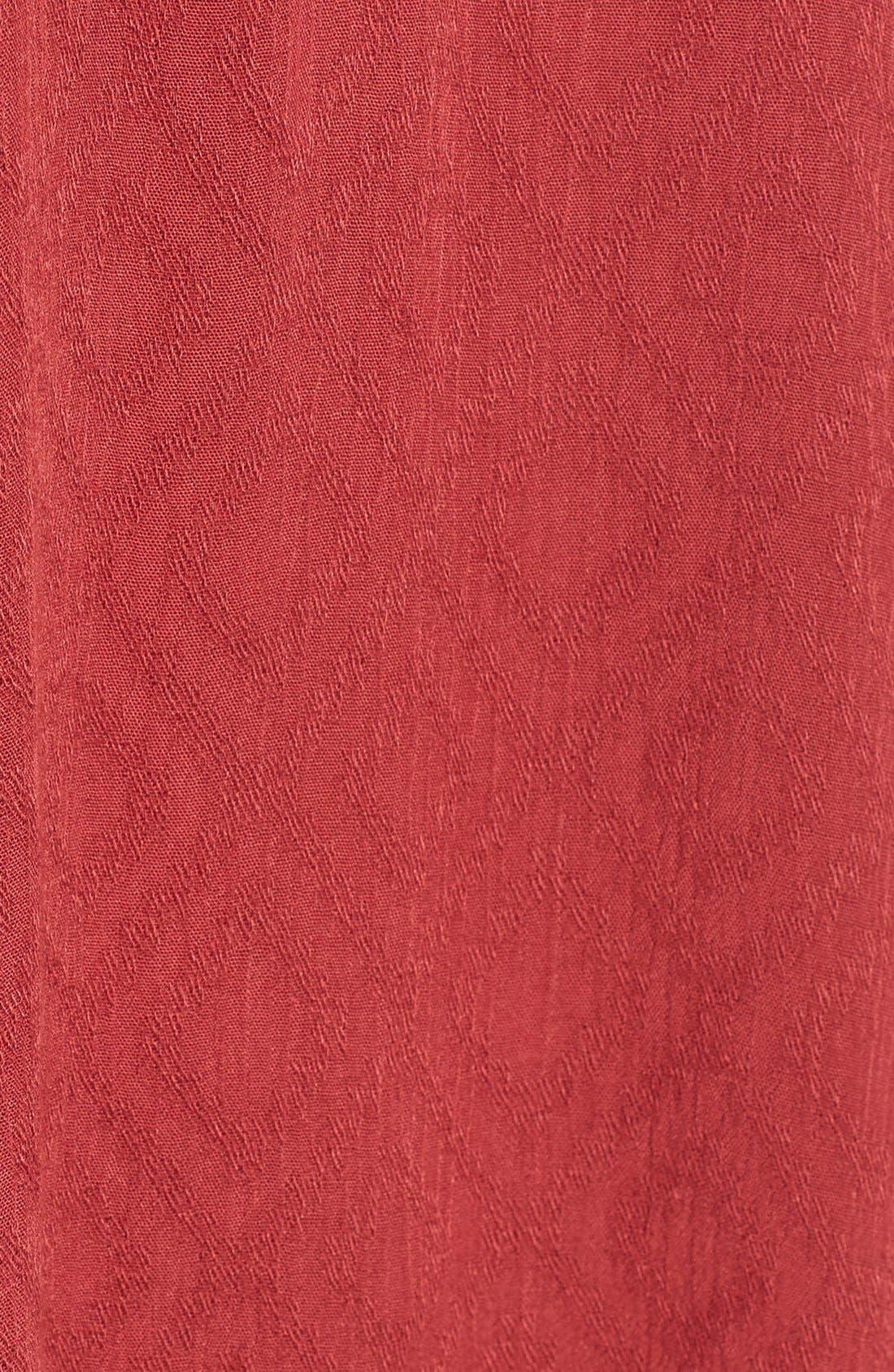 Alternate Image 5  - Lush Textured V-Neck Blouse