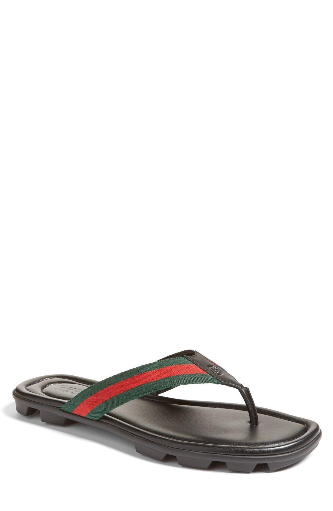 Alternate Image 1 Selected - Gucci Titan Flip Flop (Men)