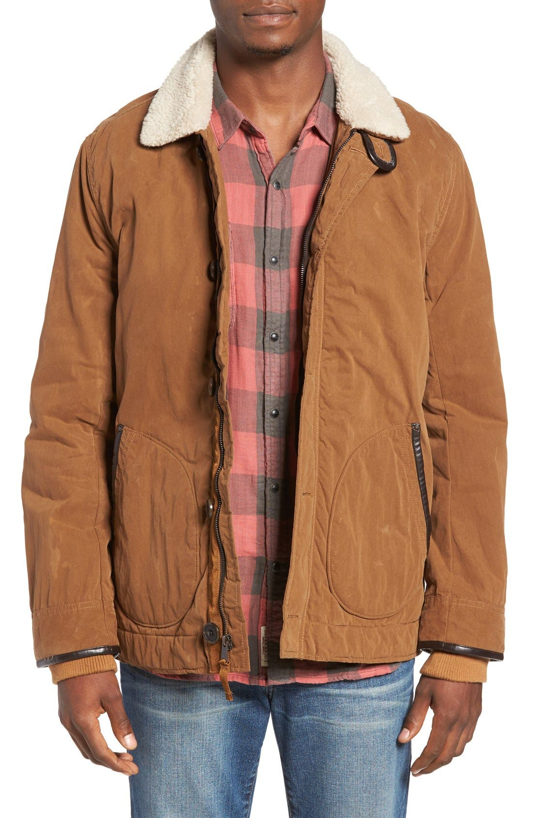 Alternate Image 1 Selected - Lucky Brand Deck Jacket