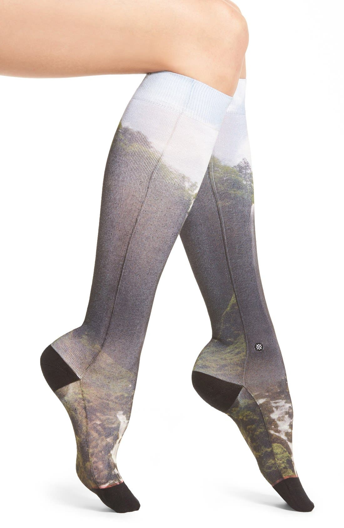 Main Image - Stance Earth Vs. Cosmo Knee Socks