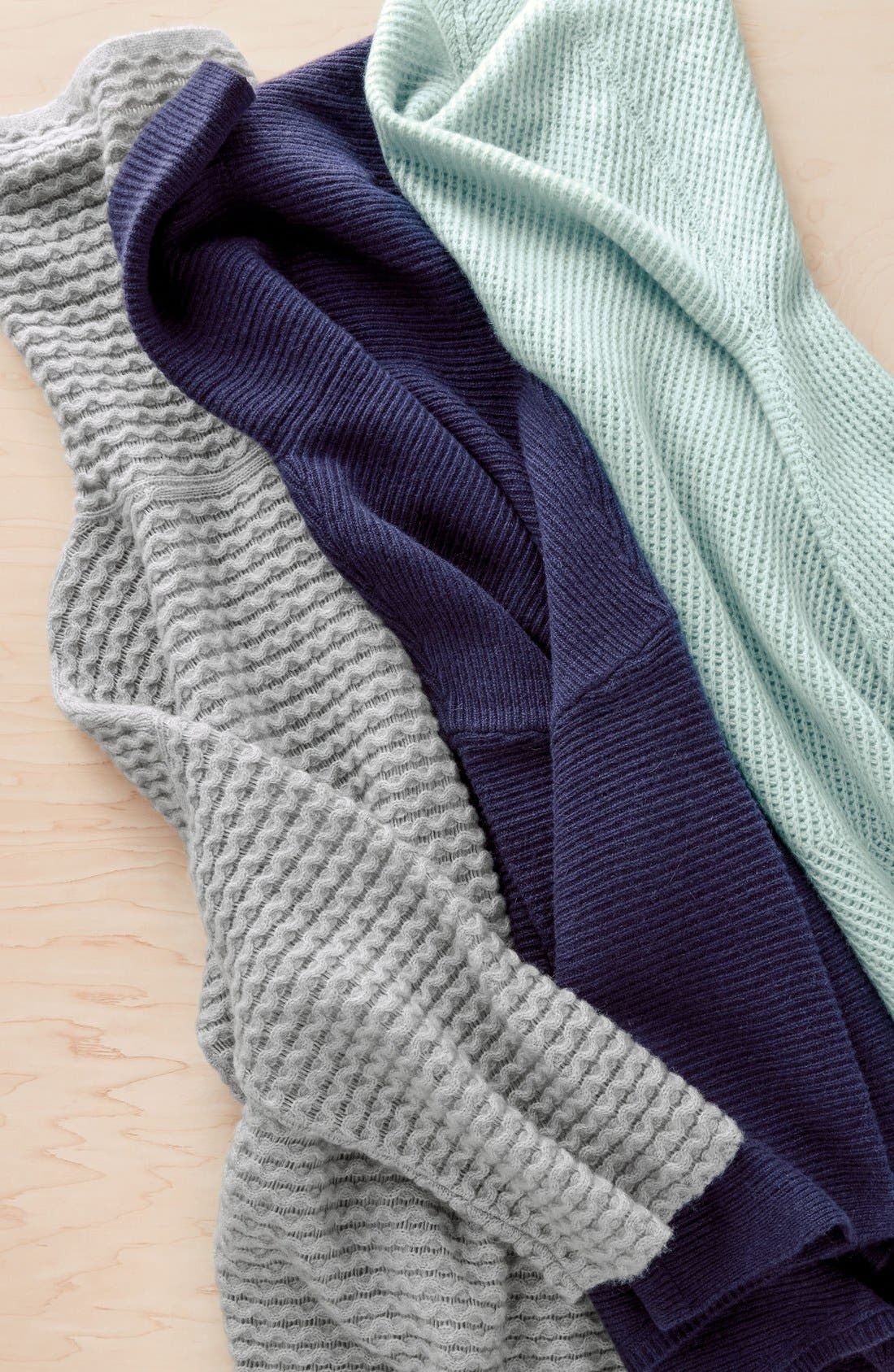 Alternate Image 6  - Halogen® Wool & Cashmere Sweater (Regular & Petite)