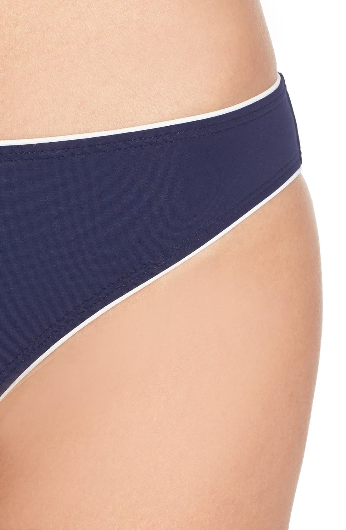 Alternate Image 4  - Tory Burch Riviera Hipster Bikini Bottoms
