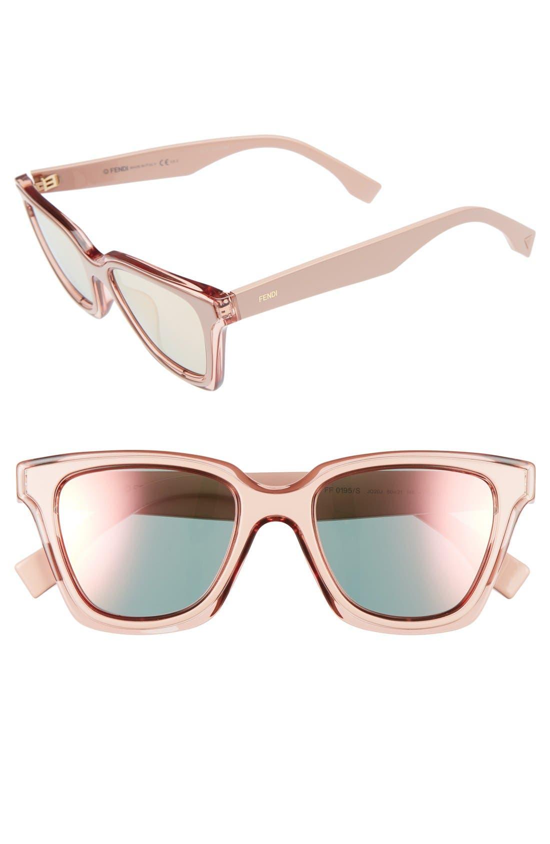 Fendi Be You 50mm Gradient Sunglasses