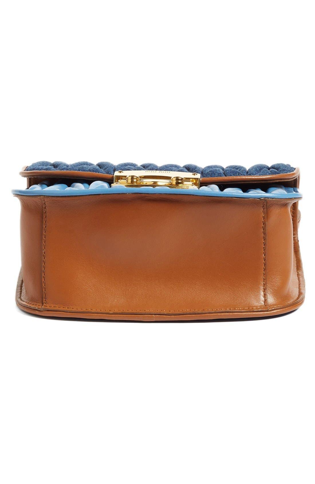 Alternate Image 6  - Miu Miu Matelassé Crossbody Bag