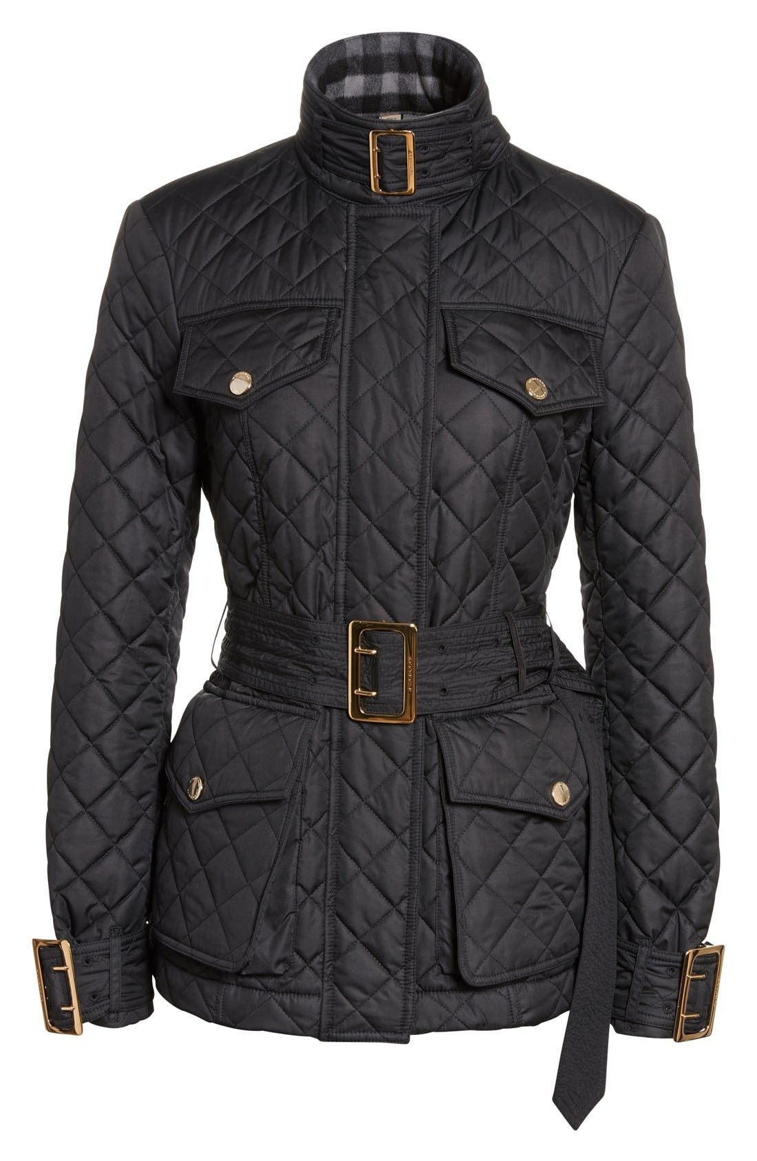 Alternate Image 4  - Burberry Haddingfield Quilted Field Jacket