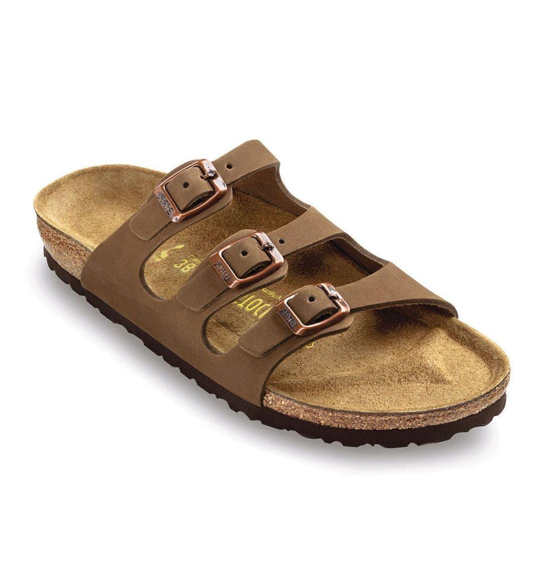'Florida' Sandal,                         Main,                         color, Brown
