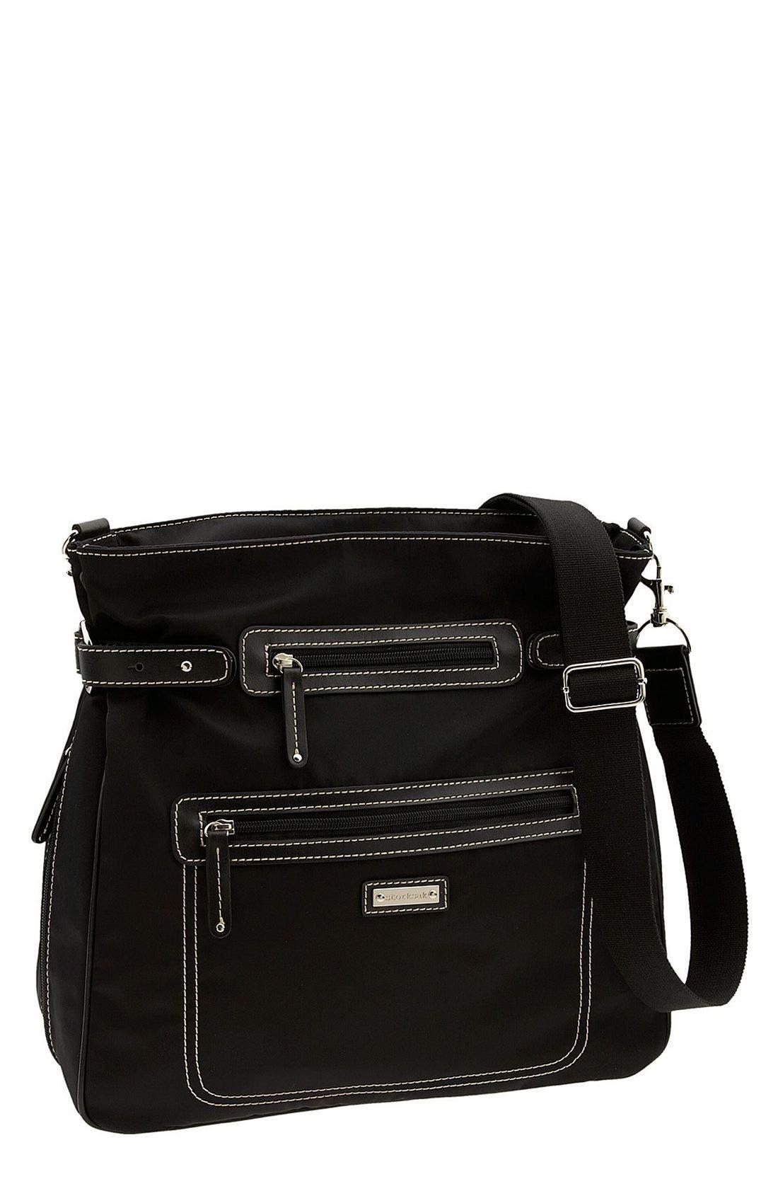 Alternate Image 1 Selected - Storksak Convertible Diaper Bag