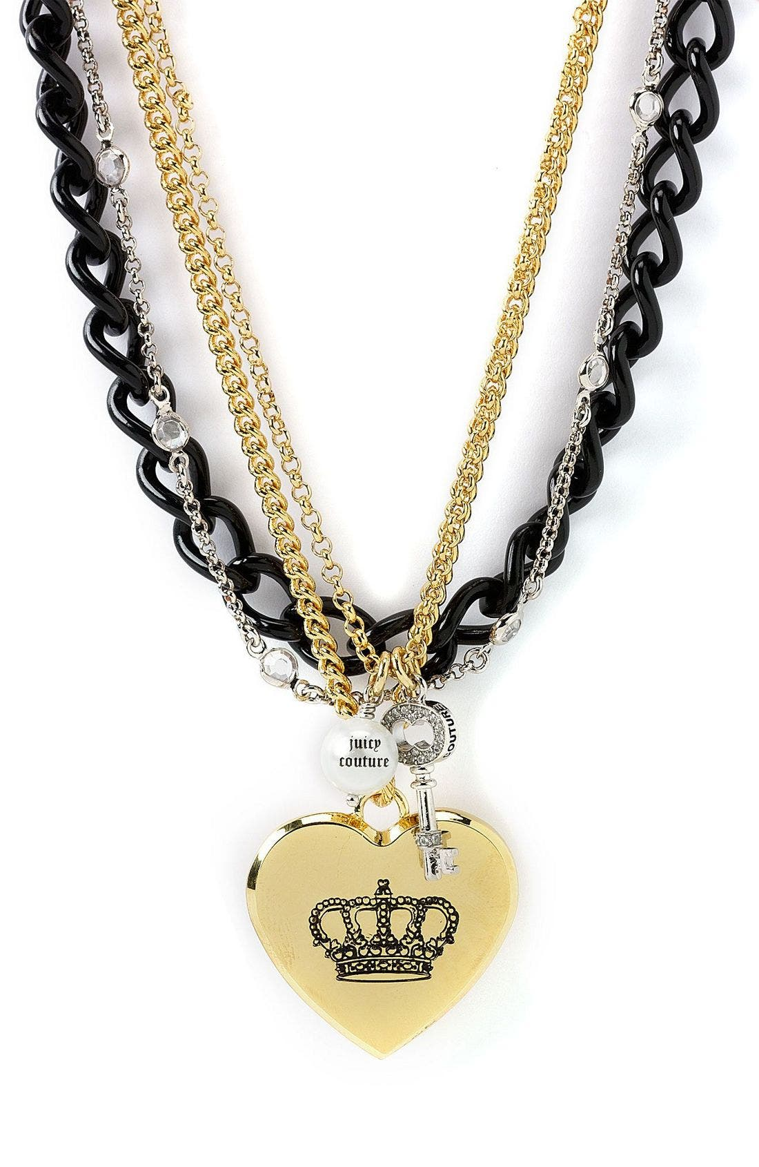 Alternate Image 1 Selected - Juicy Couture Princess Layer Necklace