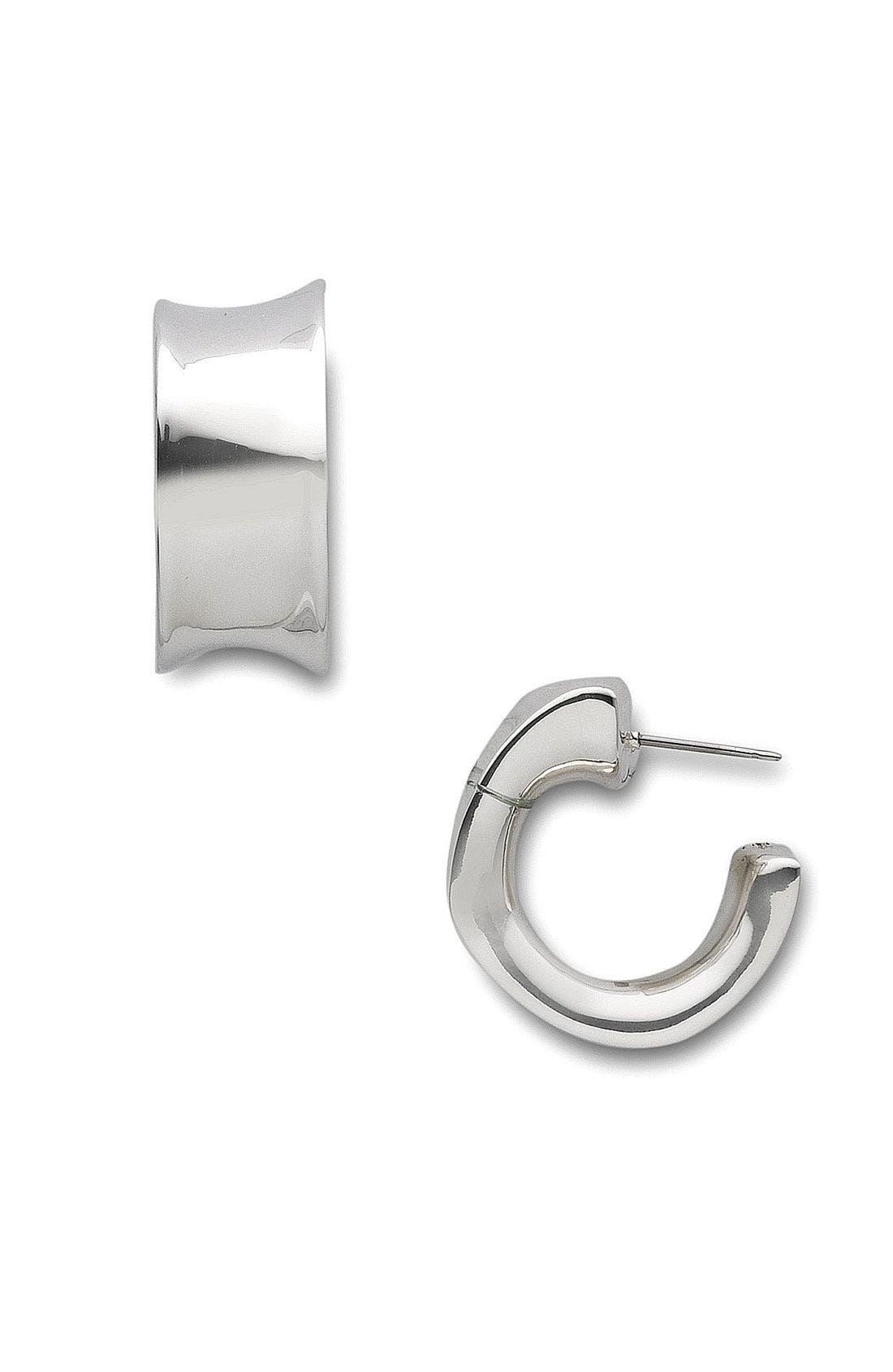 Alternate Image 1 Selected - Simon Sebbag Small Square Hoop Earrings