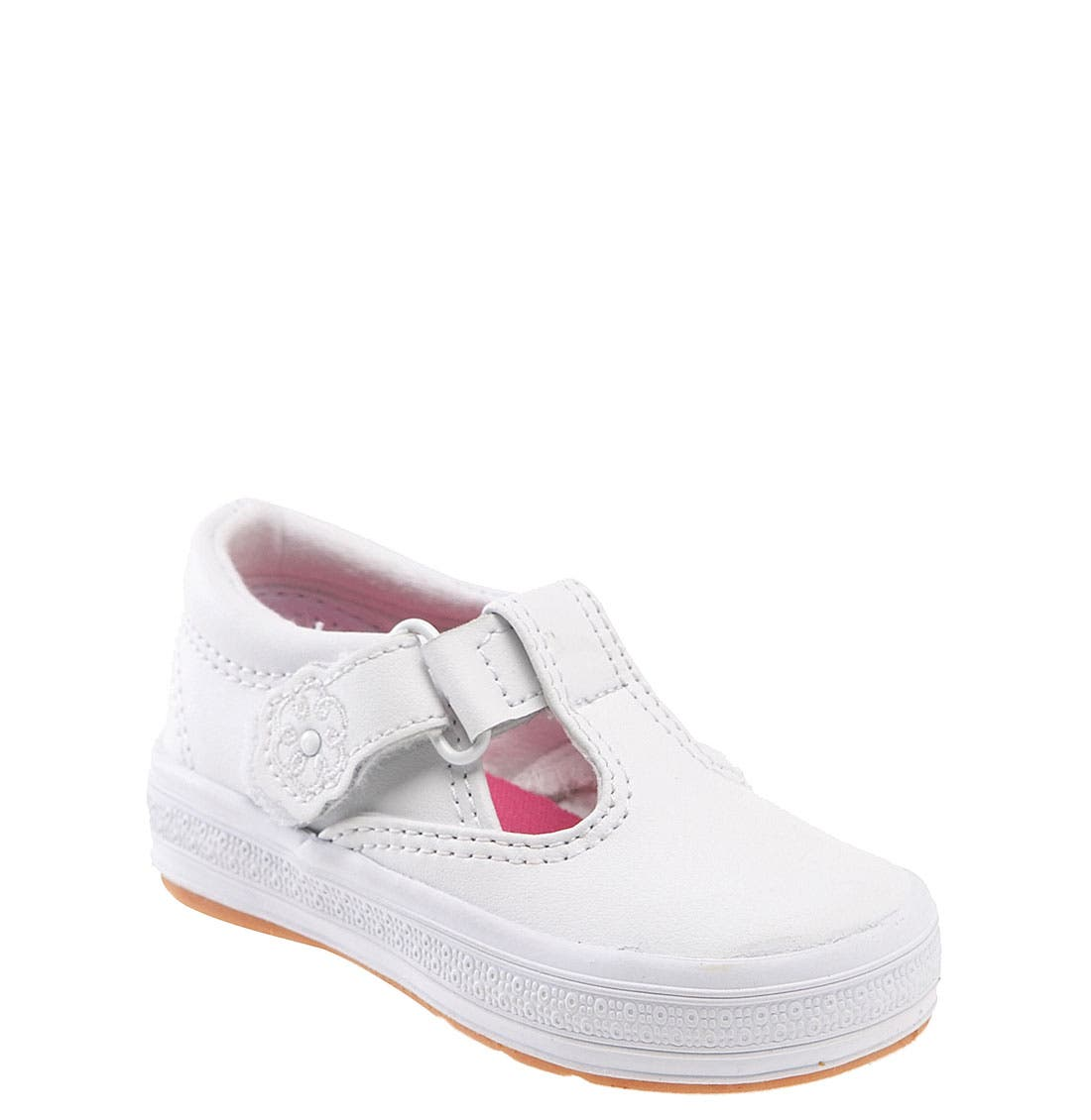 Alternate Image 1 Selected - Keds® Daphne T-Strap (Baby, Walker & Toddler)