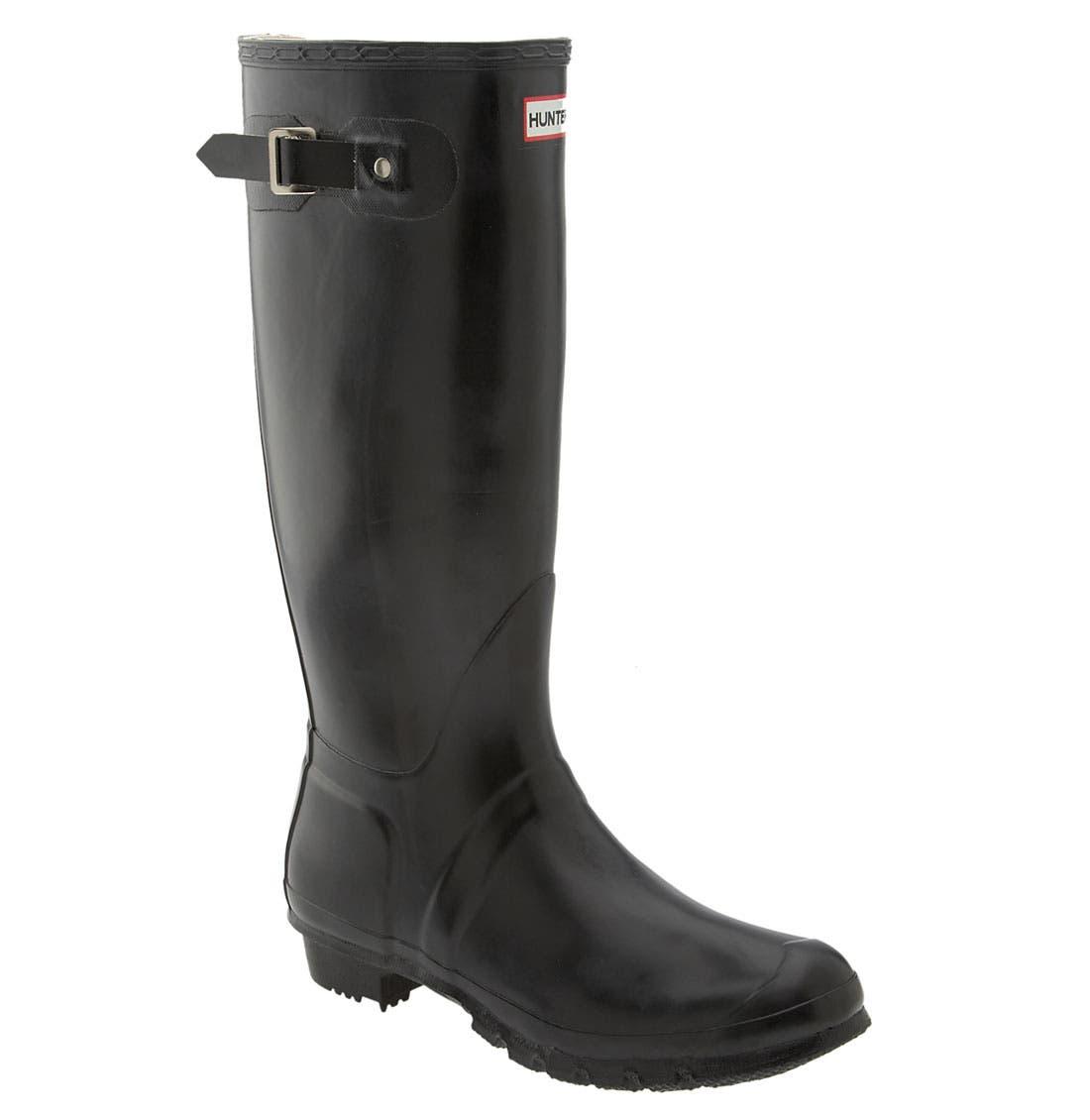 Main Image - Hunter 'Original Tall' Rain Boot (Men)