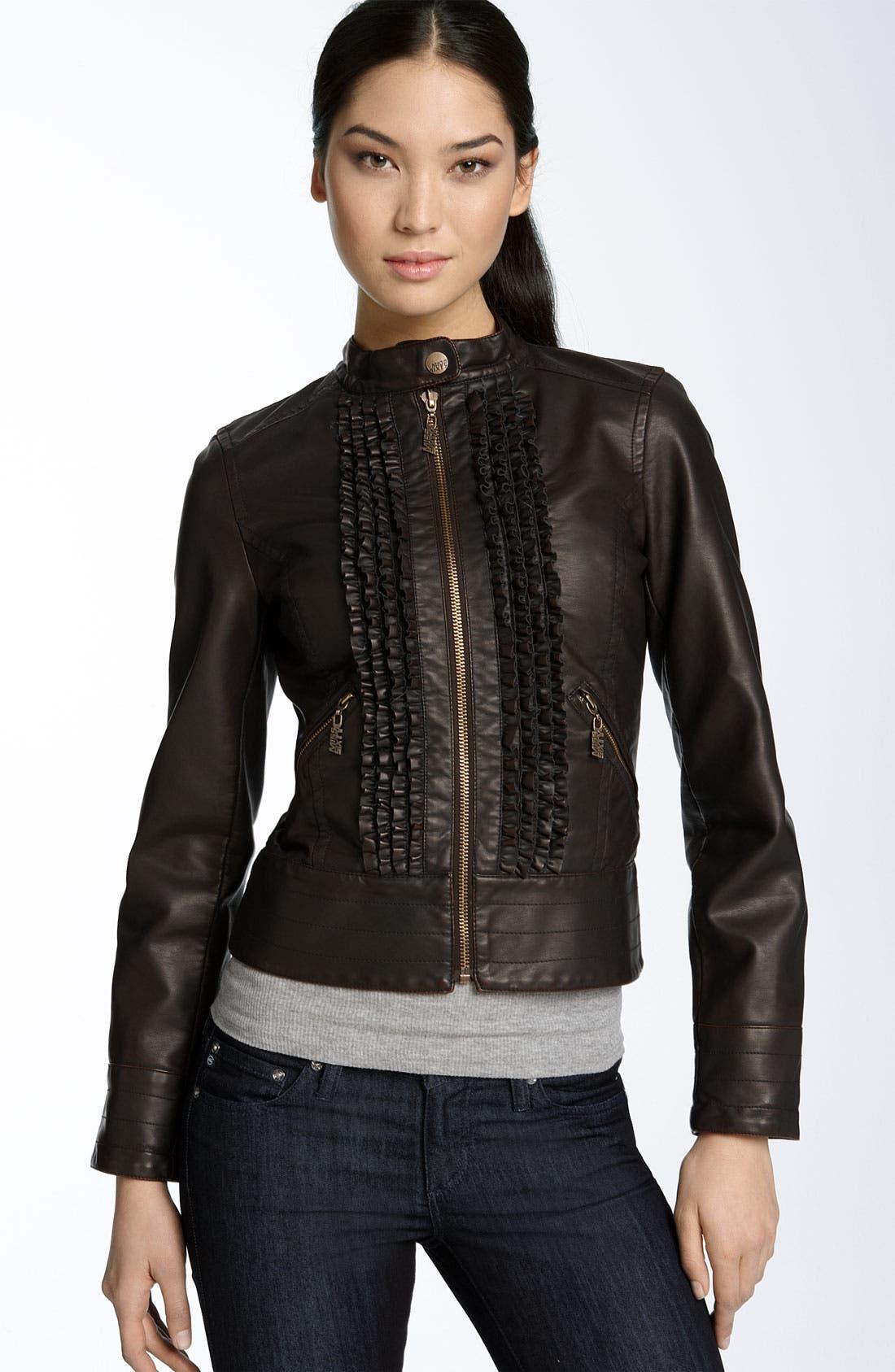 Faux Leather Jacket Juniors