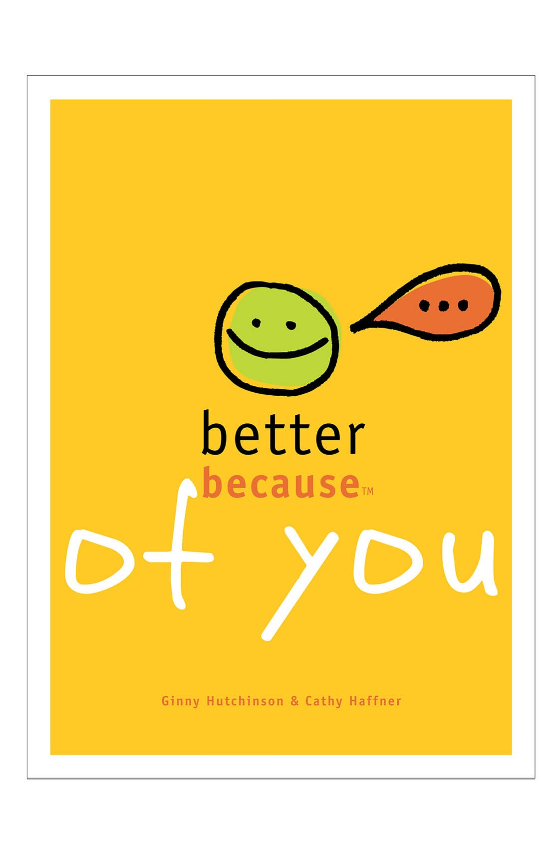 Main Image - 'Better Because of You' Book