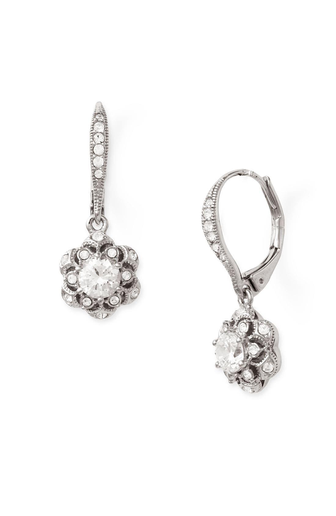 Alternate Image 1 Selected - Nadri 'Vintage Star' Drop Earrings