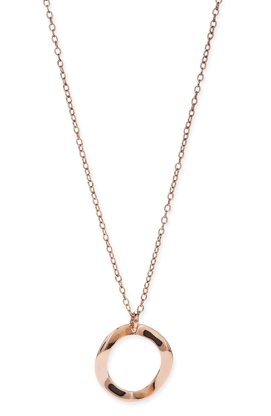 Alternate Image 1 Selected - Ippolita 'Ippolitini Circle of Life' Rosé Charm Necklace