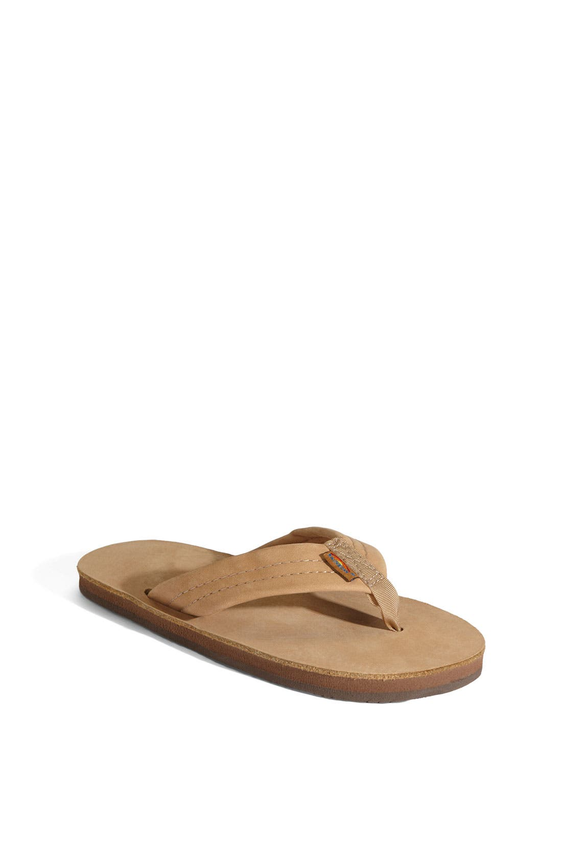 Alternate Image 1 Selected - Rainbow Leather Sandal (Toddler, Little Kid & Big Kid)