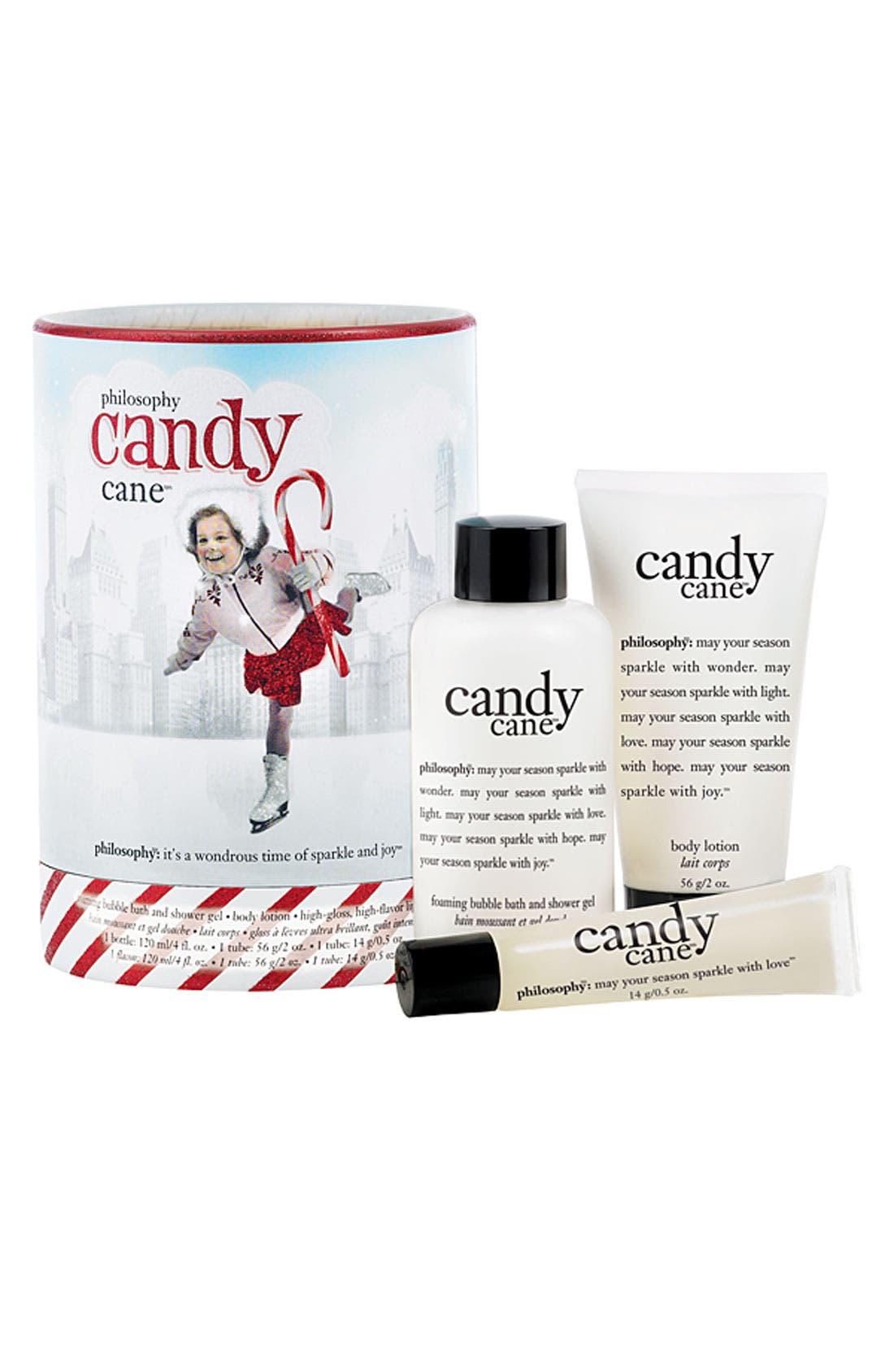 Alternate Image 1 Selected - philosophy 'candy cane' gift set