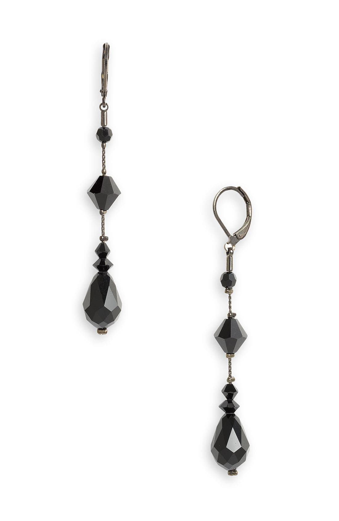 Alternate Image 1 Selected - Dabby Reid Semiprecious & Crystal Long Earrings