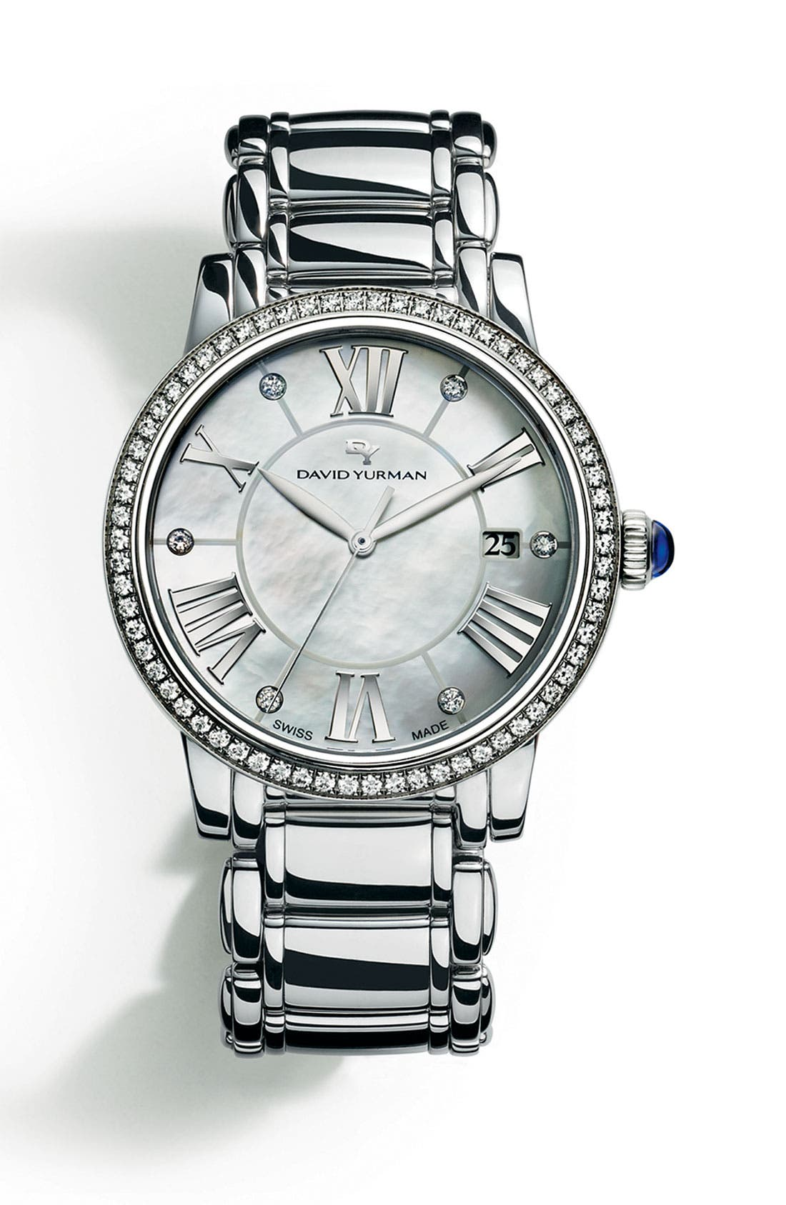 Alternate Image 1 Selected - David Yurman 'Classic' 38mm Quartz Watch