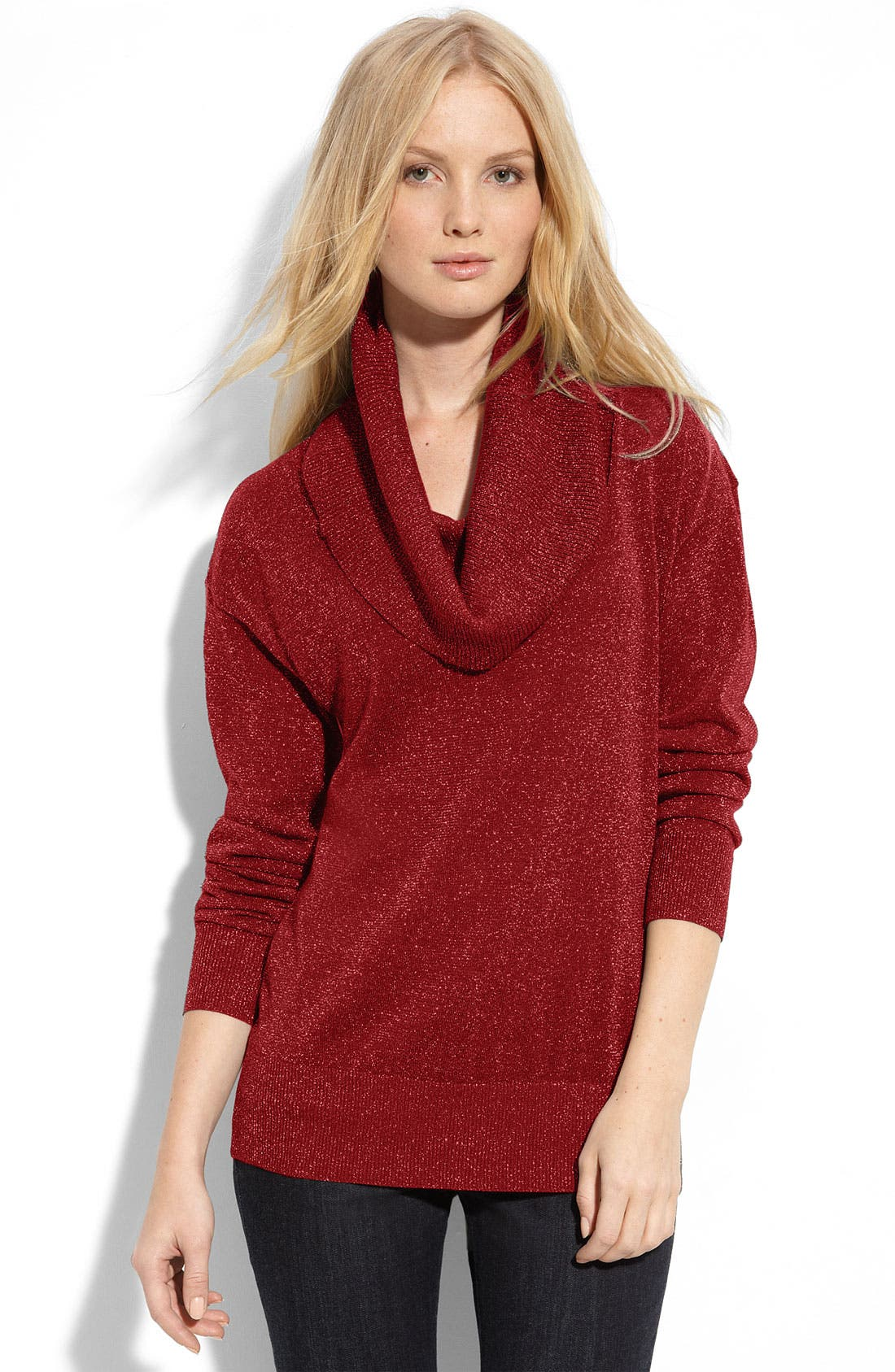 Alternate Image 1 Selected - MICHAEL Michael Kors Cowl Neck Tunic