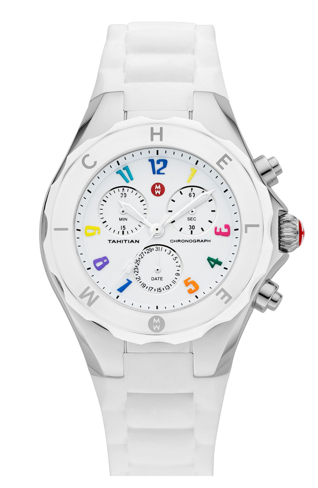 'Tahitian Jelly Bean Carousel' Watch, 40mm,                         Main,                         color, White